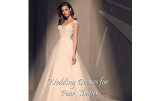 Buying A Wedding Gown For Your Body Shape: Pear