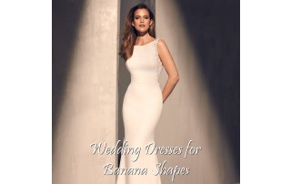 Buying A Wedding Gown For Your Body Shape: Banana