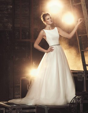 Buying A Wedding Gown For Your Body Shape: Hourglass Style 2079