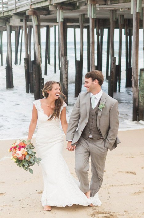 Real Bride Duck Woods Brittany Ryan