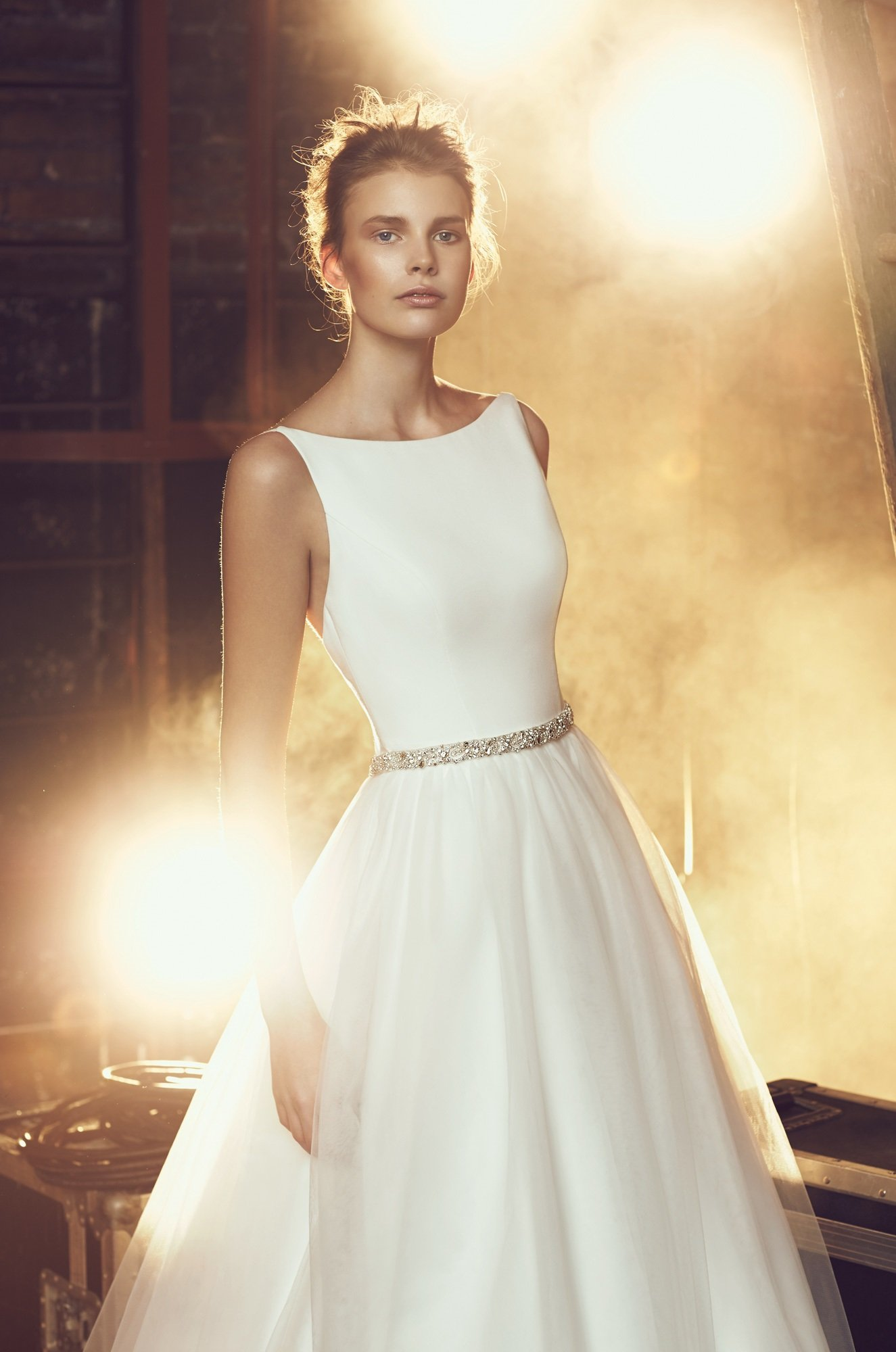Tulle Skirt Wedding Dress Style 2079 Mikaella Bridal