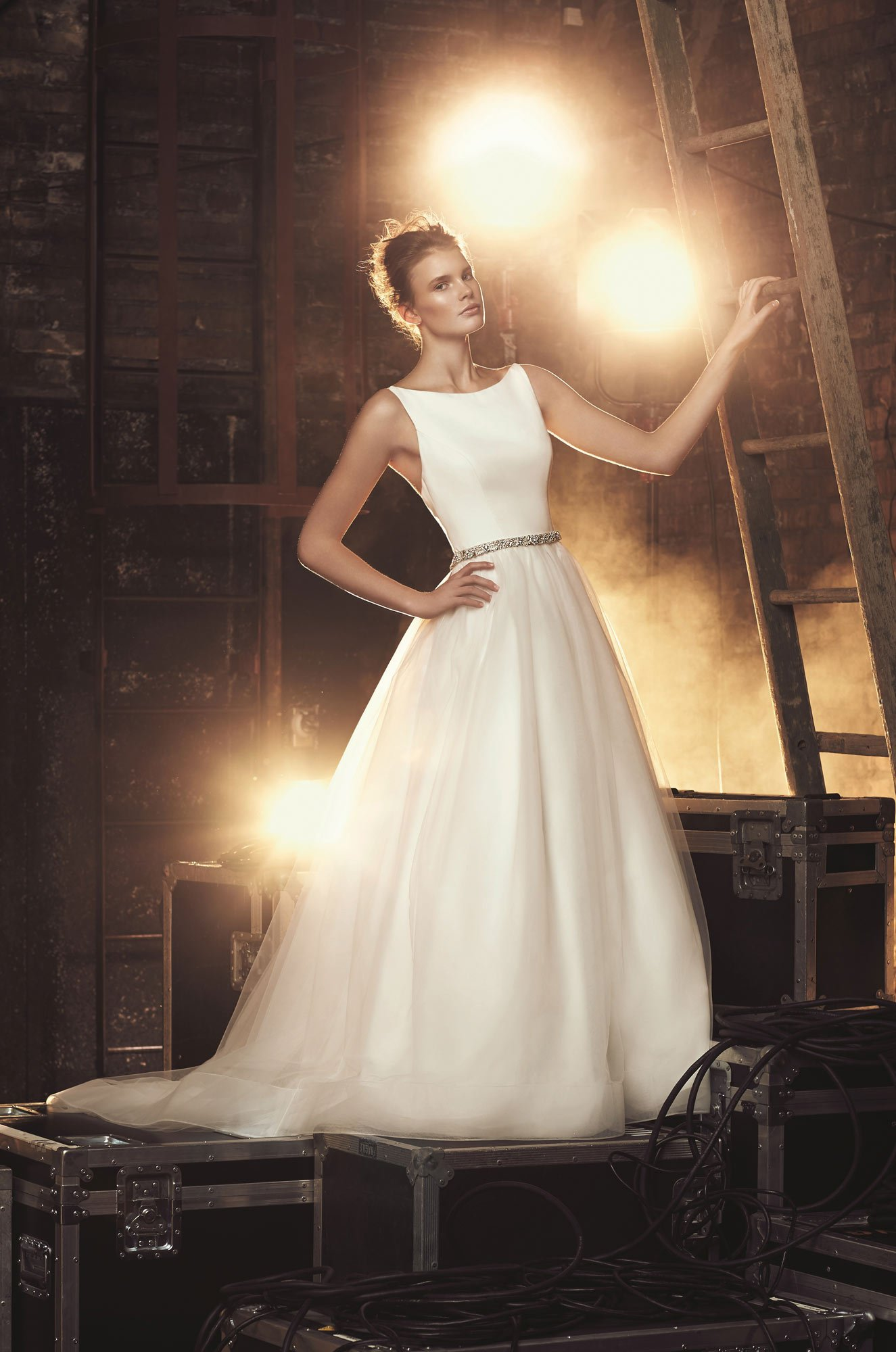 Tulle Skirt Wedding Dress - Style #2079 | Mikaella Bridal