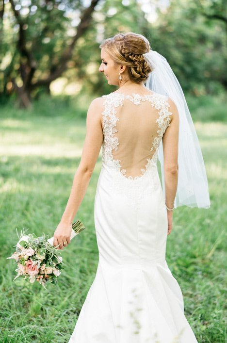 Real Bride Richmond Hill - Jillian & Rory | Mikaella Bridal