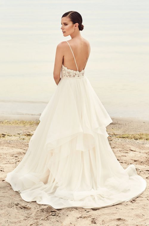 Whimsical Tulle Skirt Wedding Dress - Style #2101 | Mikaella Bridal