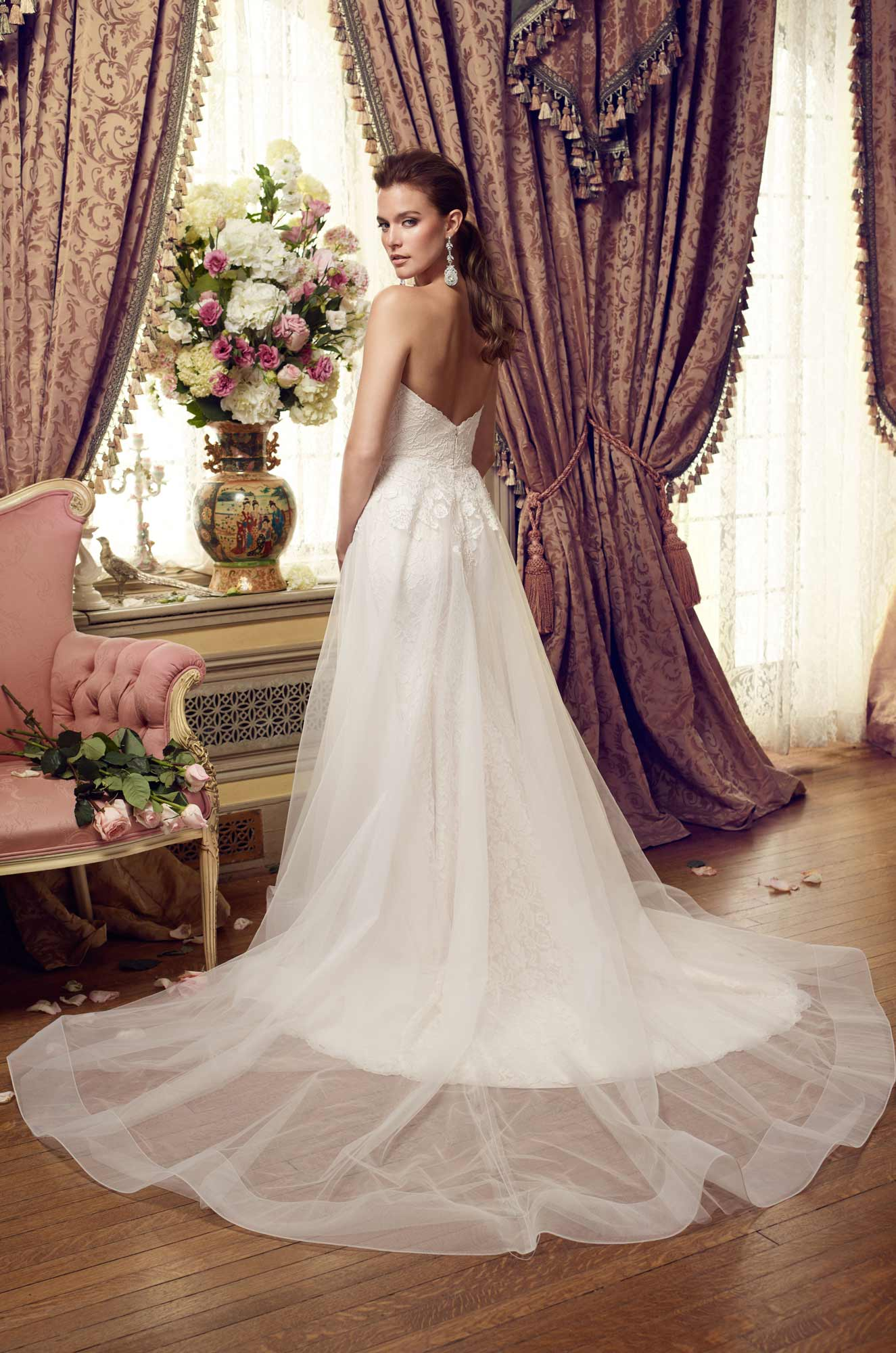 Ethereal Skirt Wedding Dress – Style #2152 | Mikaella Bridal