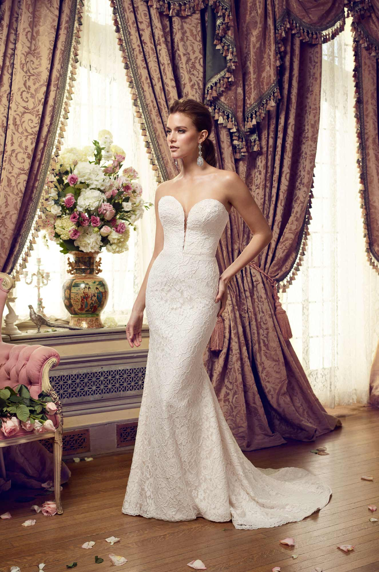 Ethereal Skirt Wedding Dress - Style #2152 | Mikaella Bridal