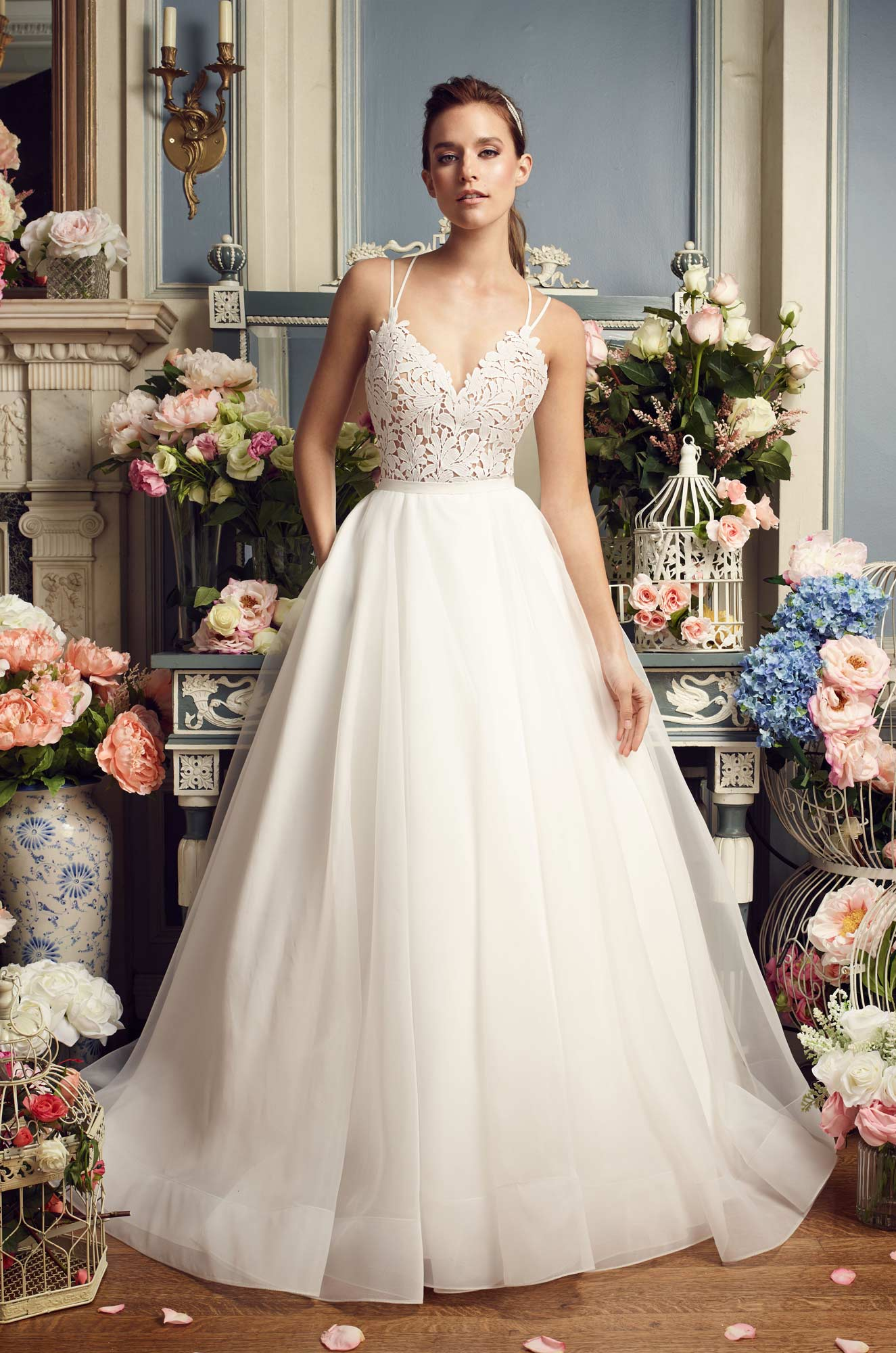 Skirt Pocket Wedding Dress - Style #2158 | Mikaella Bridal