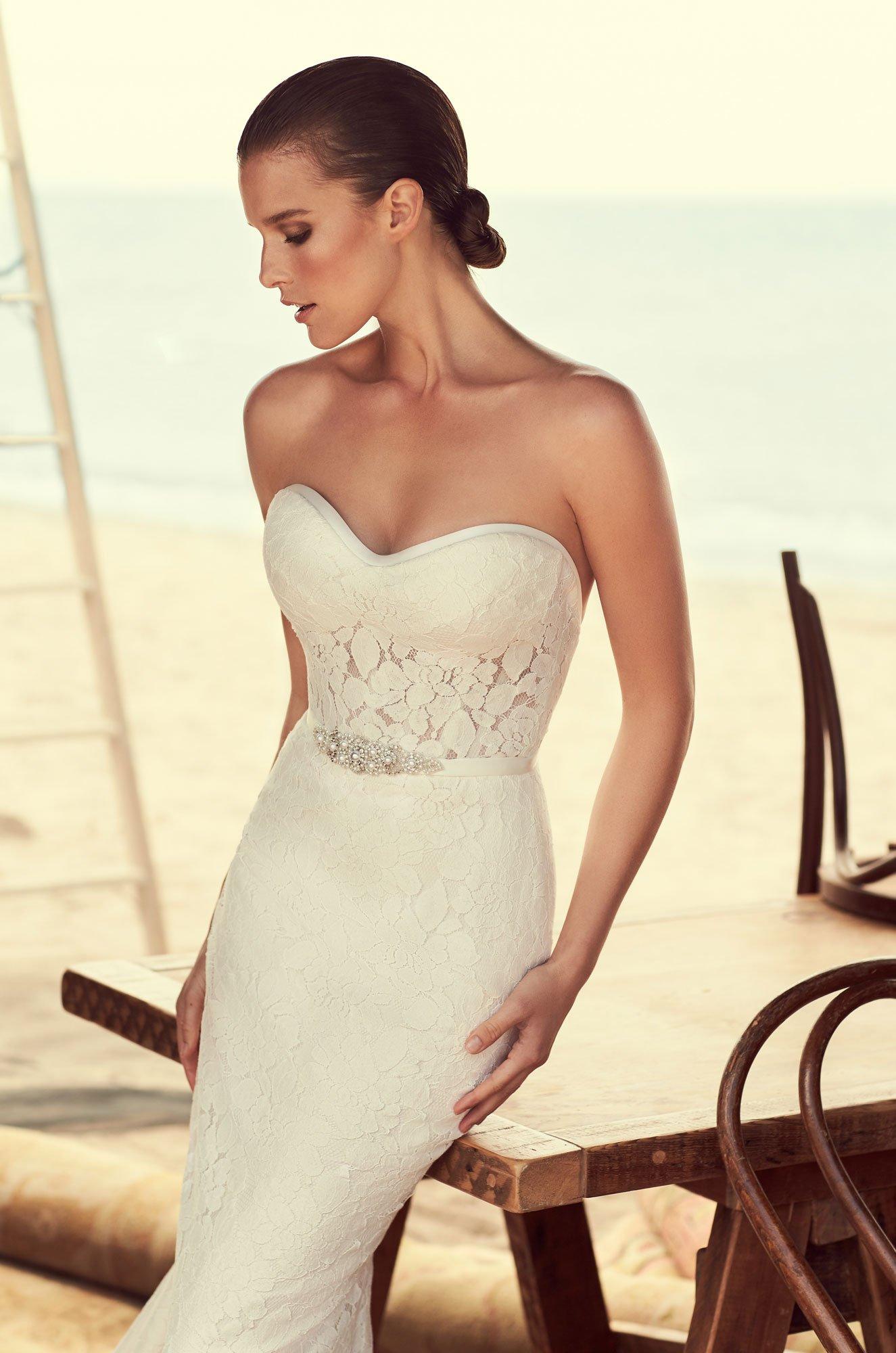 Modified Sweetheart Wedding Dress - Style #2182   Mikaella Bridal