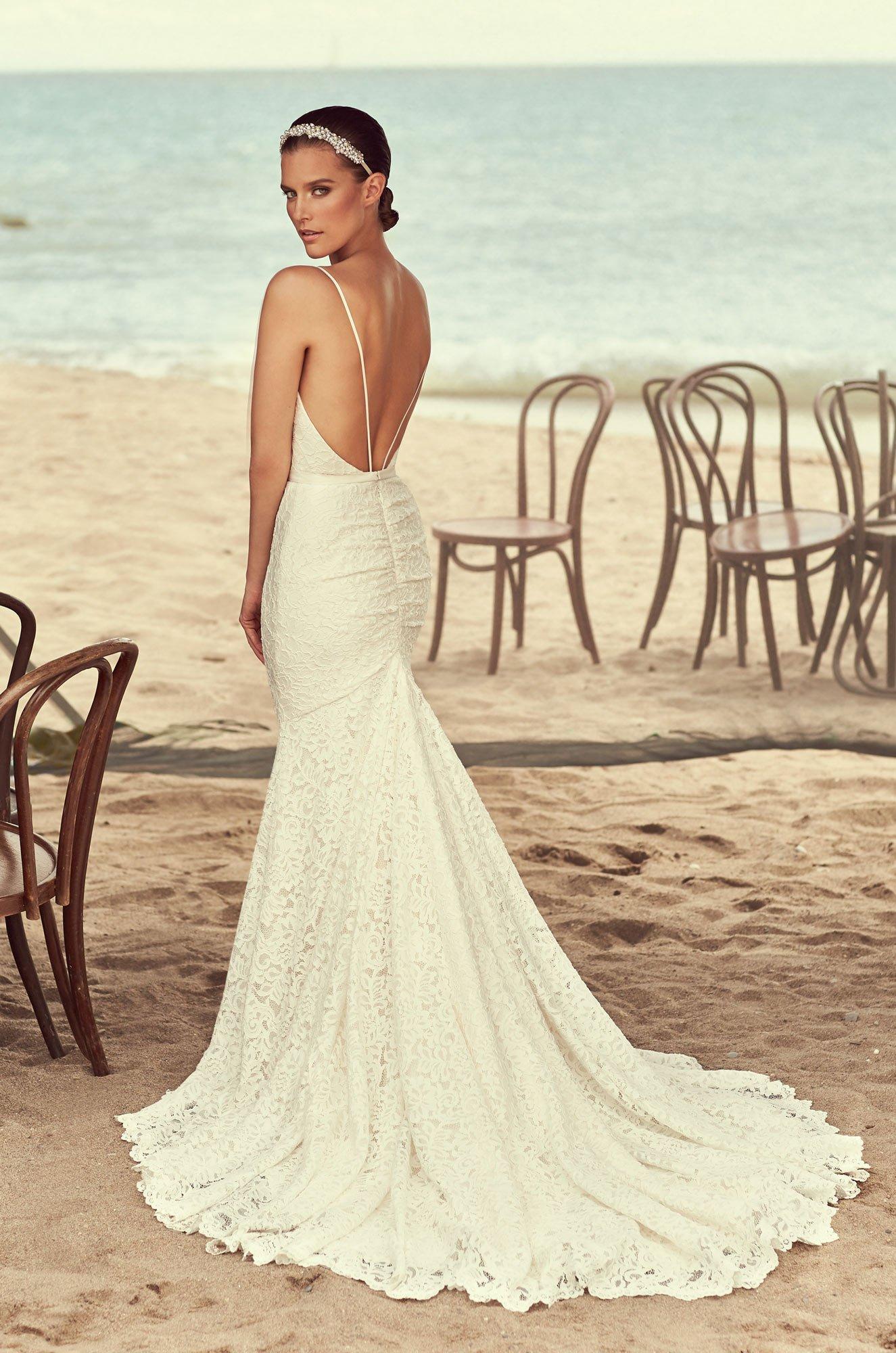 Glamorous Full Lace Wedding Dress – Style #2194 | Mikaella Bridal