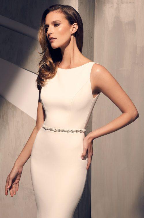Elegant Flared Wedding Dress - Style #2200 | Mikaella Bridal