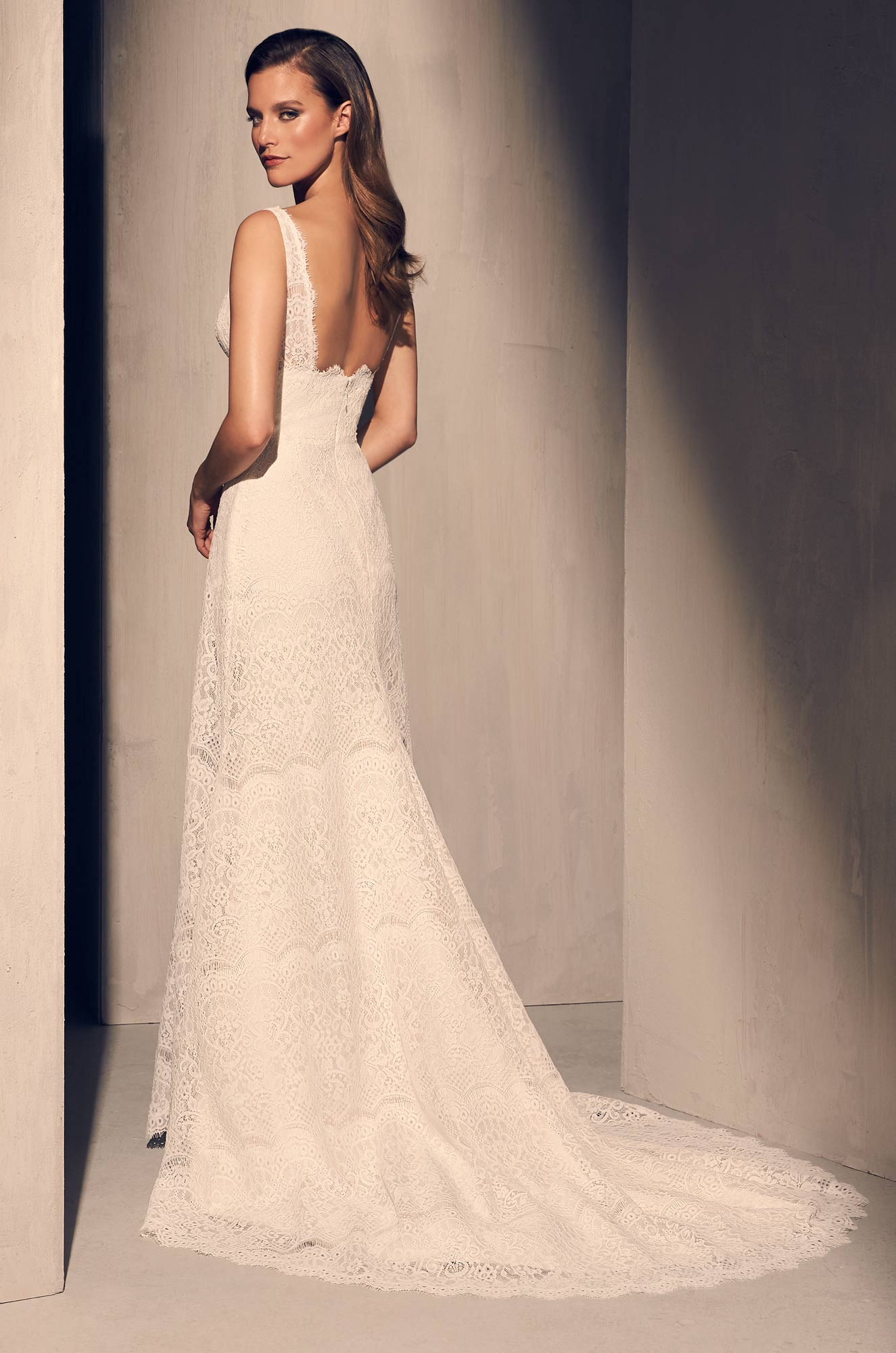 Timeless Lace Wedding Dress - Style #2217 | Mikaella Bridal