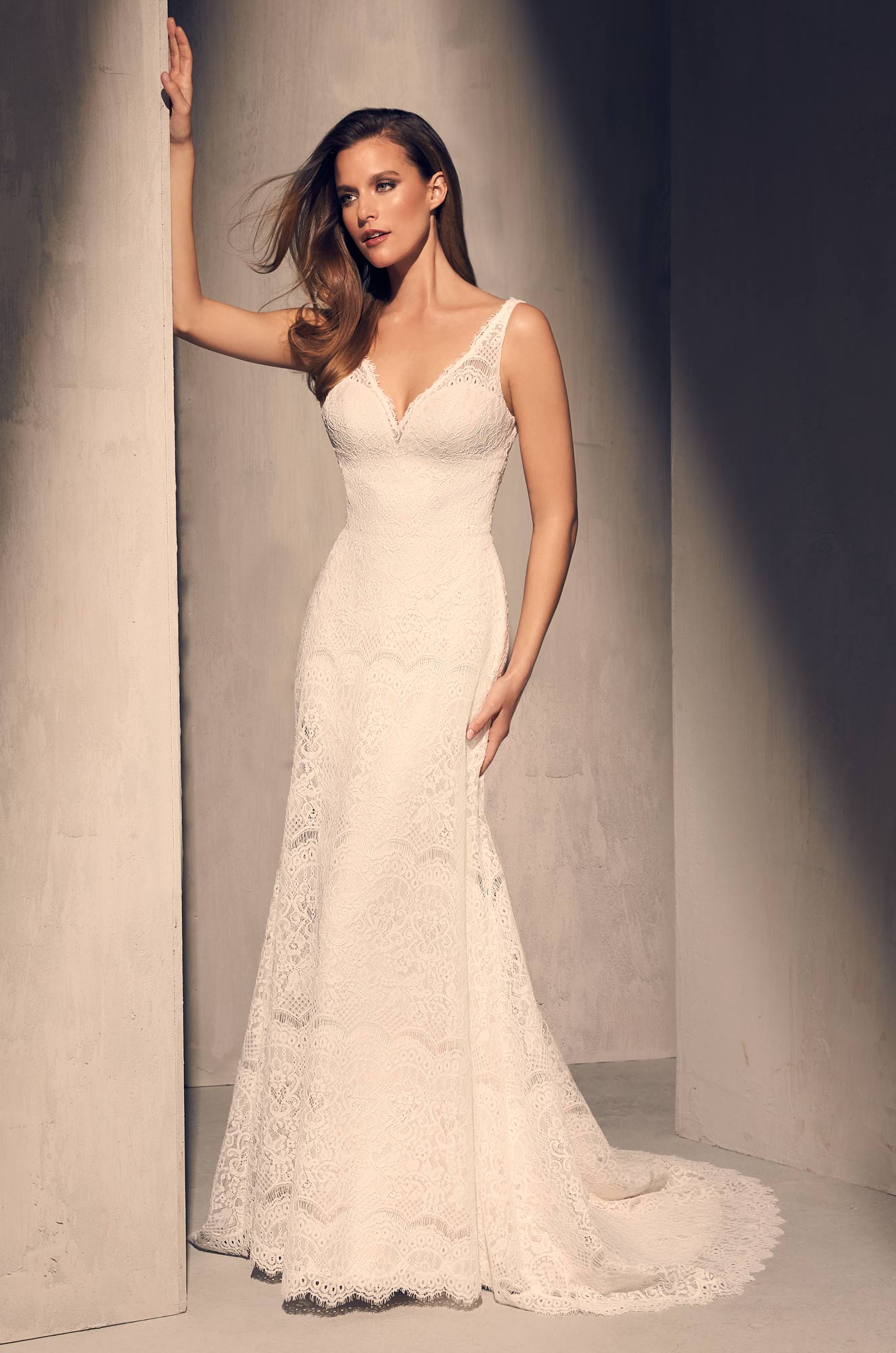 Timeless Lace Wedding Dress – Style #2217 | Mikaella Bridal
