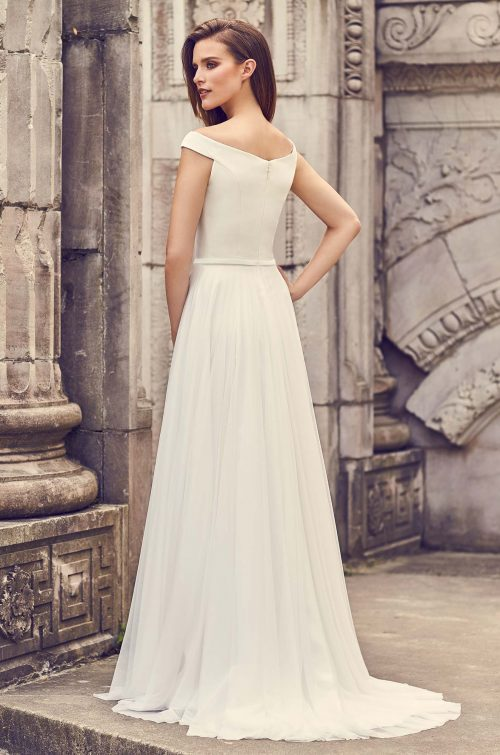 Romantic Tulle Skirt Wedding Dress - Style #2244 | Mikaella Bridal