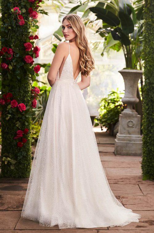 Dreamy Embroidered Wedding Dress - Style #2264 | Mikaella Bridal