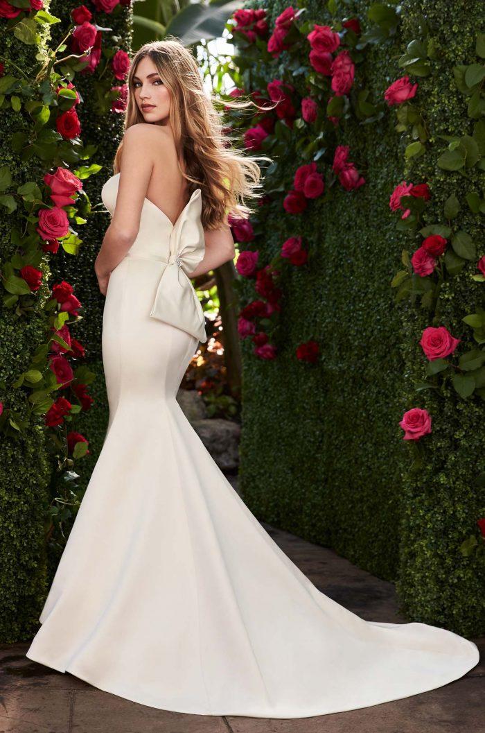 Oversized Bow Wedding Dress - Style #2267 | Mikaella Bridal