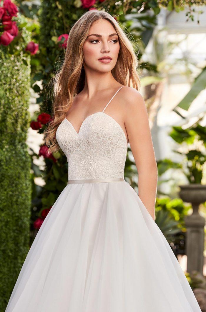 Layered Organza Wedding Dress - Style #2270   Mikaella Bridal