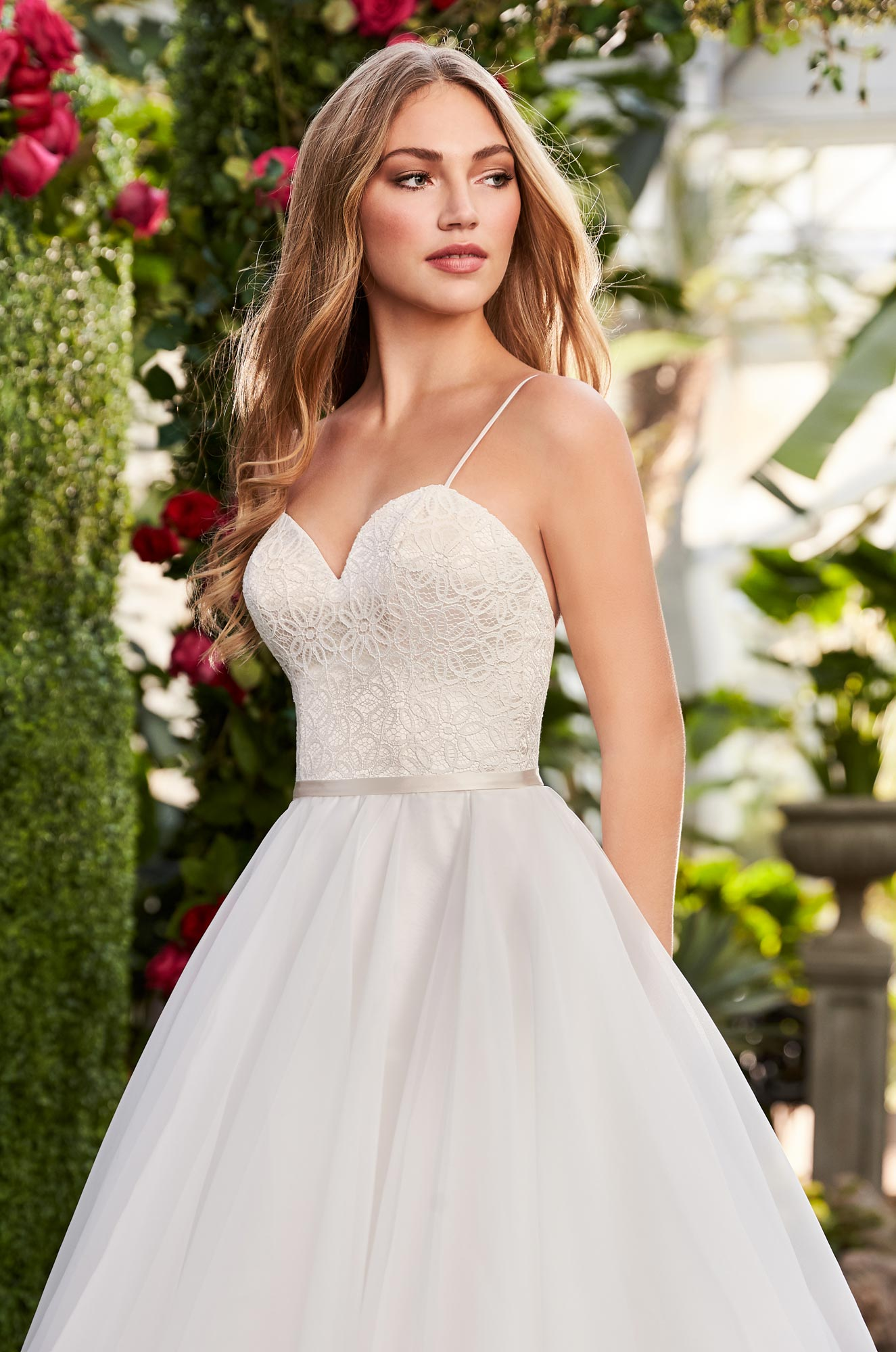 Layered Organza Wedding Dress – Style #2270 | Mikaella Bridal