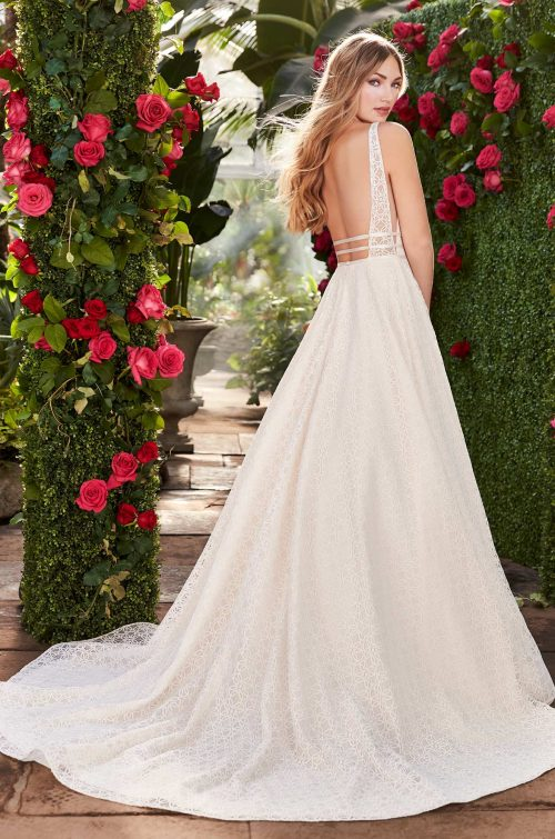Ball Gown Wedding Dress With Pockets - Style #2273 | Mikaella Bridal