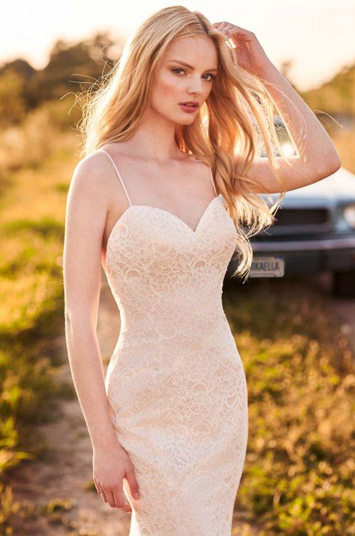 Casually Elegant Lace Wedding Dress - Style #2280 | Mikaella Bridal