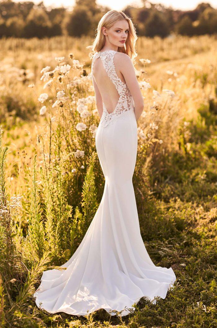 Breathtaking Keyhole Back Wedding Dress - Style #2281   Mikaella Bridal