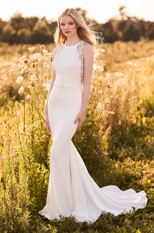 Breathtaking Keyhole Back Wedding Dress - Style #2281 | Mikaella Bridal
