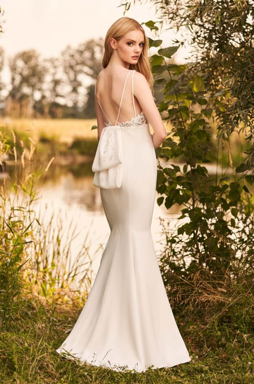 Versatile Detachable Train Wedding Dress - Style #2292 | Mikaella Bridal