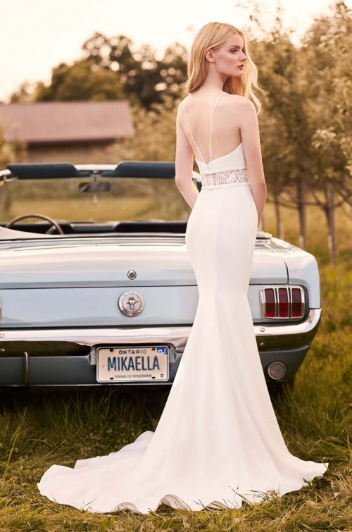 Refined Elegance Wedding Dress - Style #2295 | Mikaella Bridal