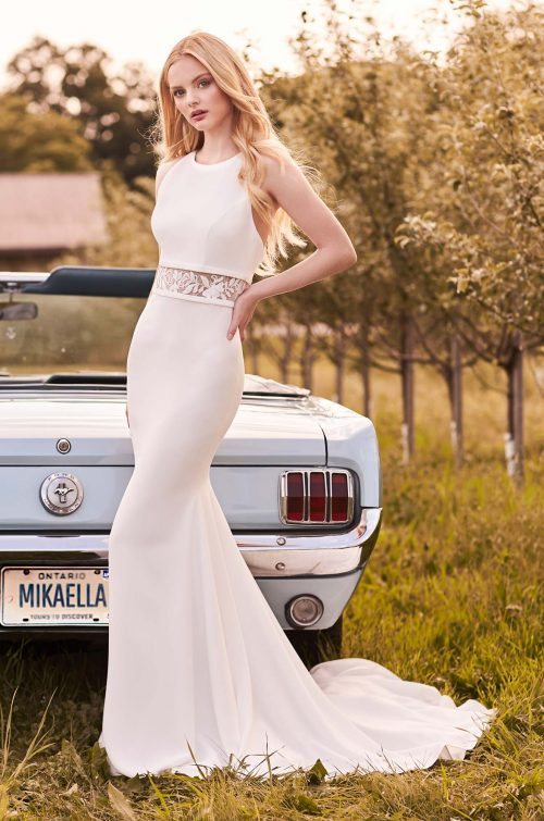Refined Elegance Wedding Dress - Style #2295   Mikaella Bridal