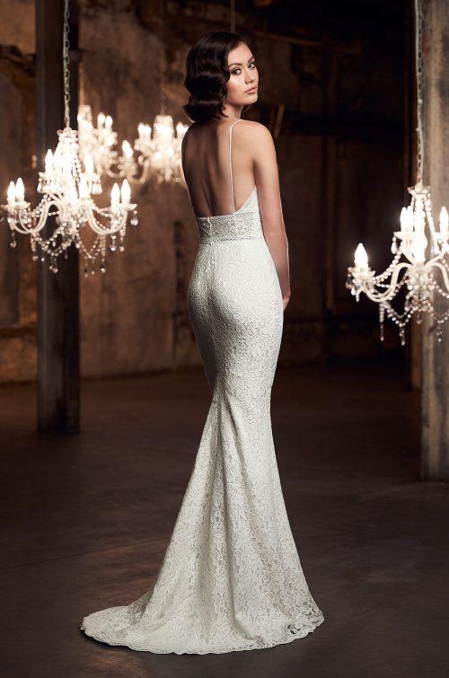 Glamorous Lace Wedding Dress - Style #2301 | Mikaella Bridal