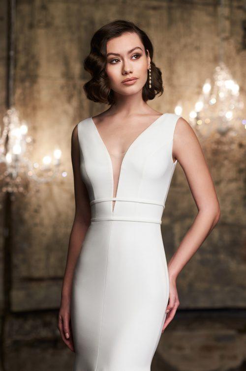 Stunning Sleeveless Wedding Dress - Style #2302 | Mikaella Bridal