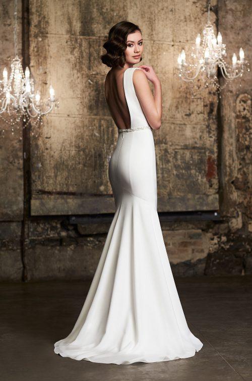 Tulle Overskirt Wedding Dress - Style #2305 | Mikaella Bridal