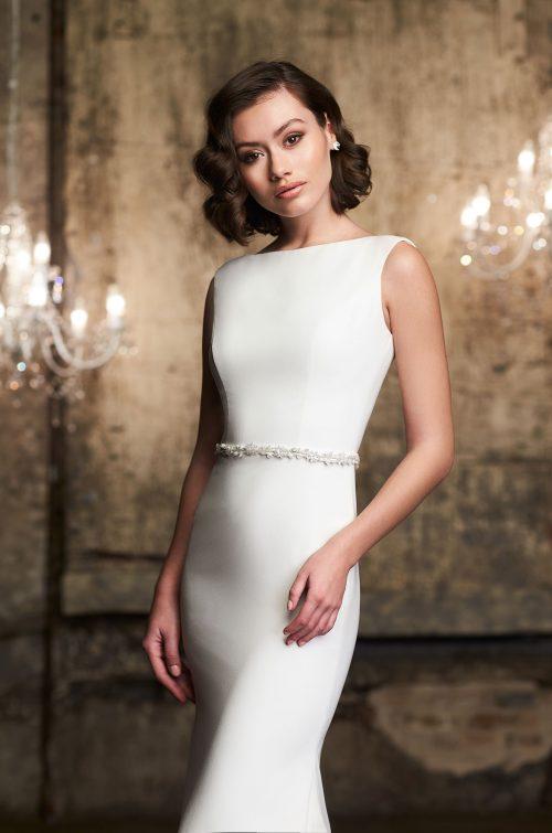 Tulle Overskirt Wedding Dress - Style #2305   Mikaella Bridal
