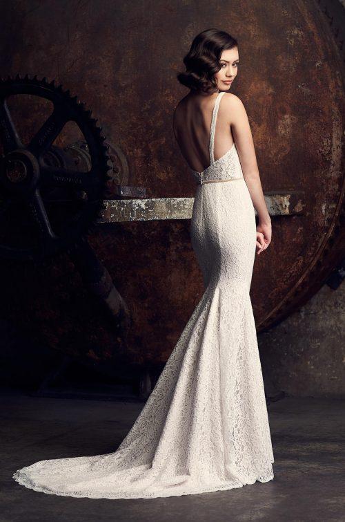 Charming Lace Wedding Dress - Style #2307 | Mikaella Bridal