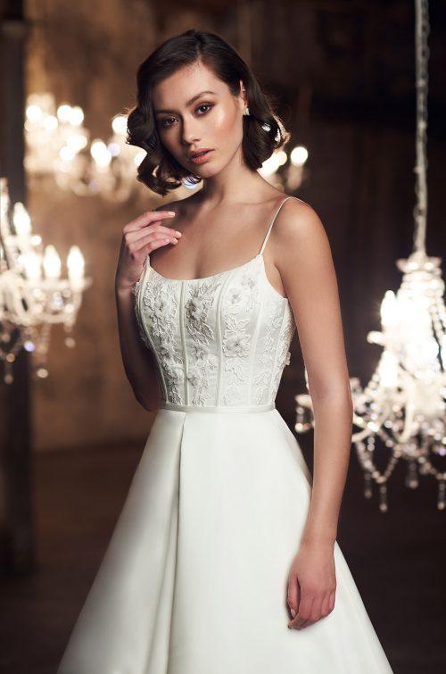 Romantic Floral Wedding Dress - Style #2311   Mikaella Bridal