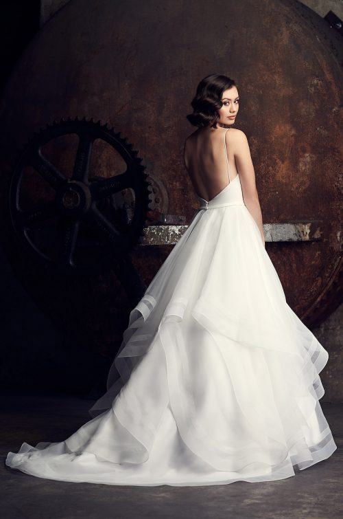 Elegant Layered Wedding Dress - Style #2312 | Mikaella Bridal