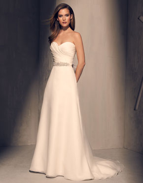 Mikaella What Do You Wear Under A Wedding Dress Strapless Style 2213