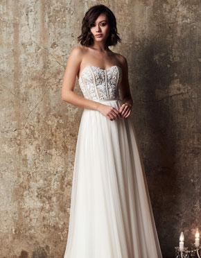 Mikaella What Do You Wear Under A Wedding Dress Strapless Style 2313