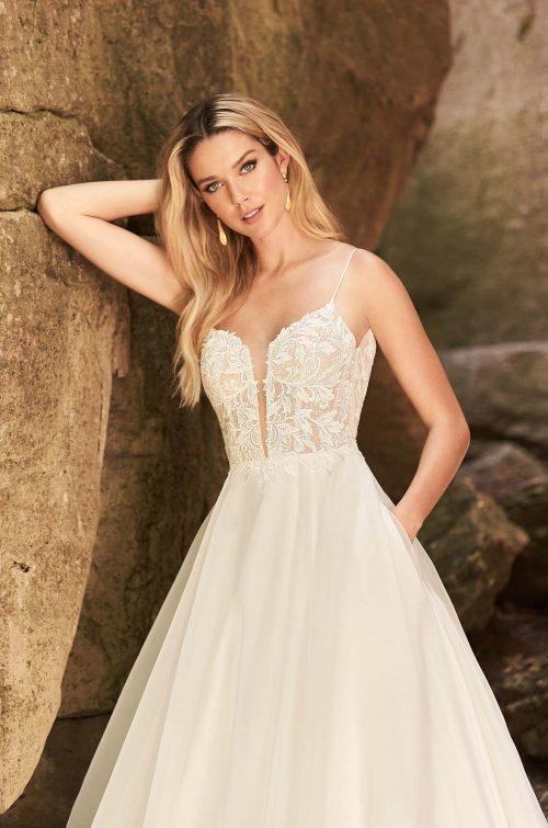Eye-Catching Wedding Dress - Style #2331   Mikaella Bridal