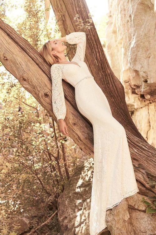 Breezy Lace Wedding Dress - Style #2332 | Mikaella Bridal