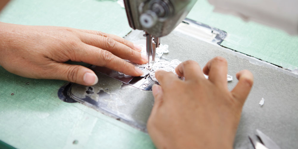 Can I Customize My Wedding Dress - Factory Image