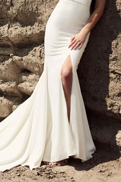 Can I Customize My Wedding Dress - Skirt Slit